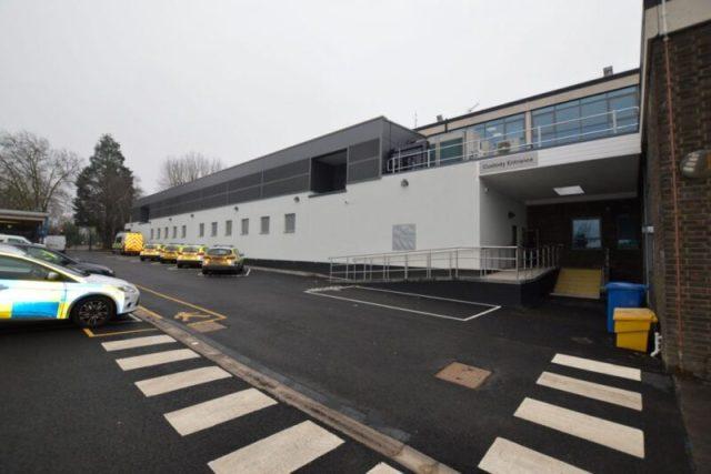 Southend police station custody entrance