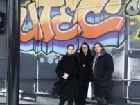 with Dr. Elspeth Slayter and Elena Ansara
