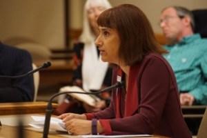 Barbara Beckert testifying for AB168