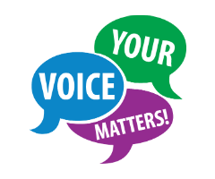 Your voice matters!