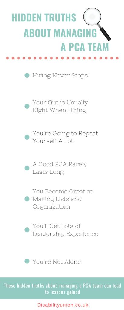 Hidden Truths About Managing a PCA Team