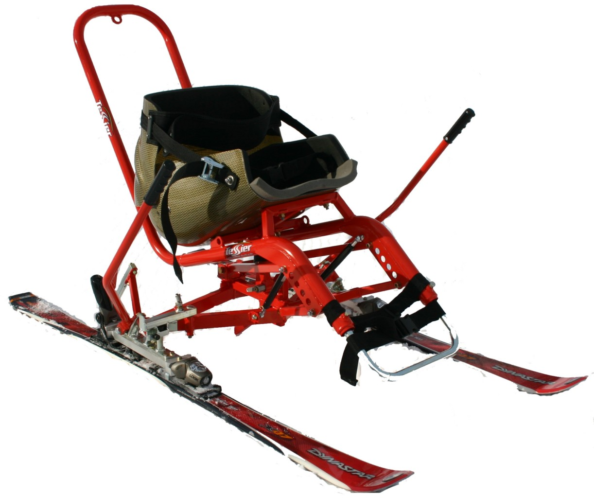 wheelchair skiing chair covers for fold up chairs sit ski disabledgear
