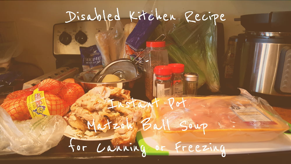 Instant Pot Matzoh Ball Soup title card