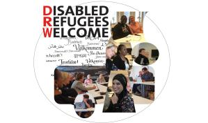 samling av bilder på deltagare i referensmötet för DRWs projektet