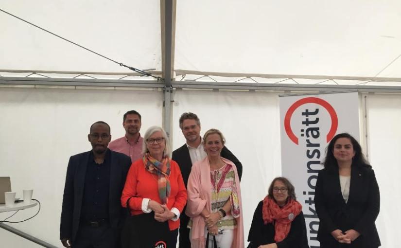 DRW deltog i Funktionsrätt Stockholms Län seminarium