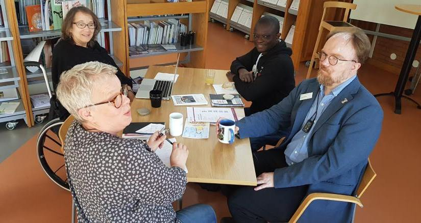 (Svenska) DRW:s möte med Infoteket om funktionshinder i Uppsala Region