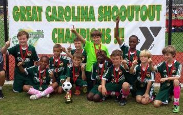 DISA U11 Fire- Great Carolina Shootout CHAMPIONS