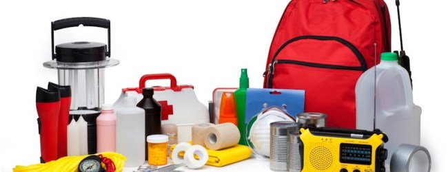 """Disaster Survival Kit and Emergency """"Bug Out Bag"""" Checklist"""