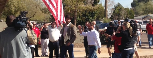 #KeepUpTheGoodWork | Peak One Builders & Restoration Teams Up With Jared Allen's Homes For Wounded Warriors