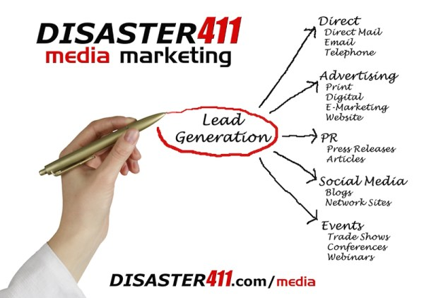 DISASTER411 Media Marketing Agency for Insurance Restoration