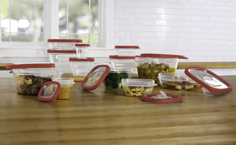 24 Pcs Plastic Food Storage Containers Set With Vents & Air Tight Locking Lids 1