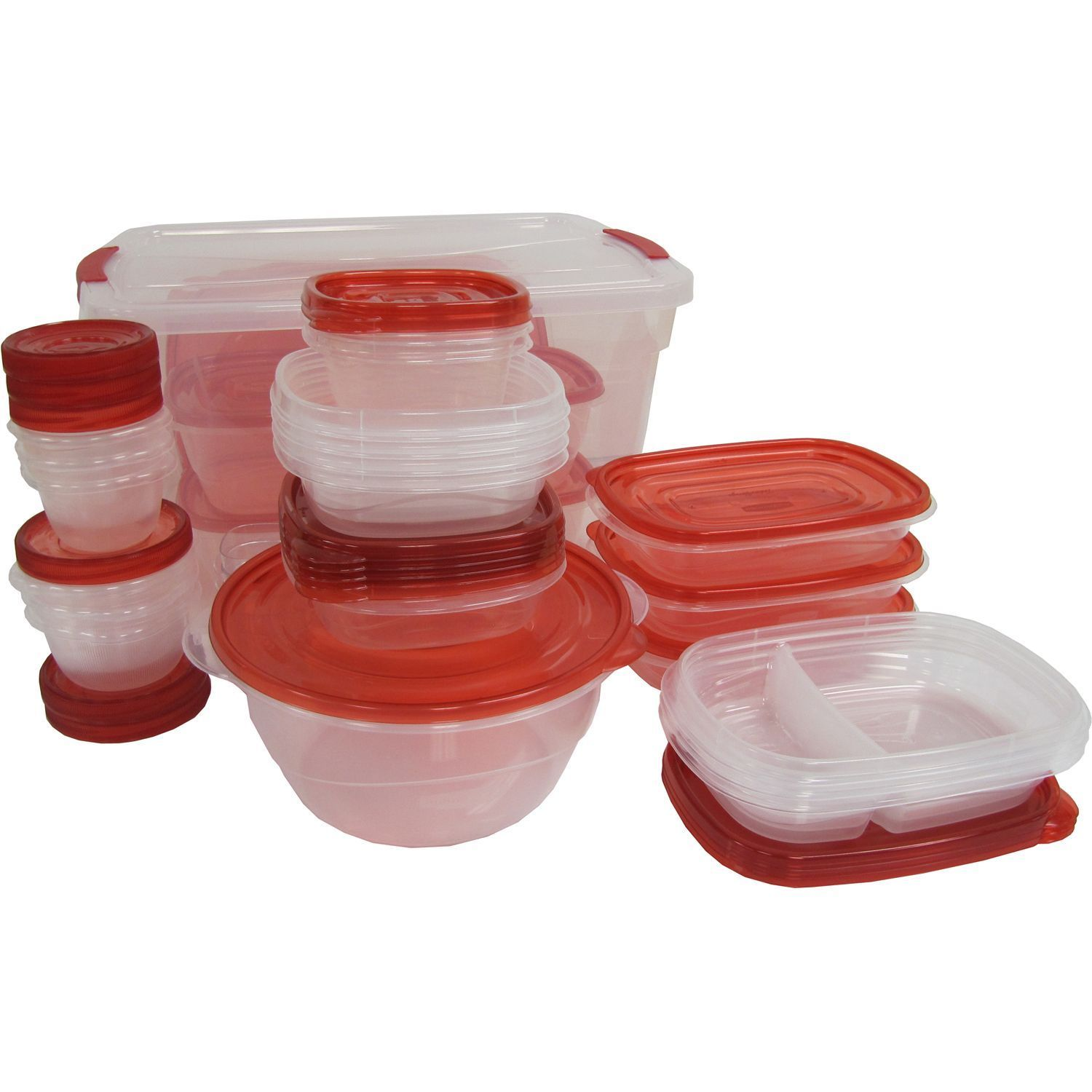 Rubbermaid TakeAlongs 62 Piece Food Storage Set NEW!!! 1