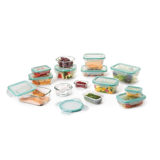 OXO Good Grips 30 Piece SNAP Leakproof Glass and Plastic Food Storage Container 6