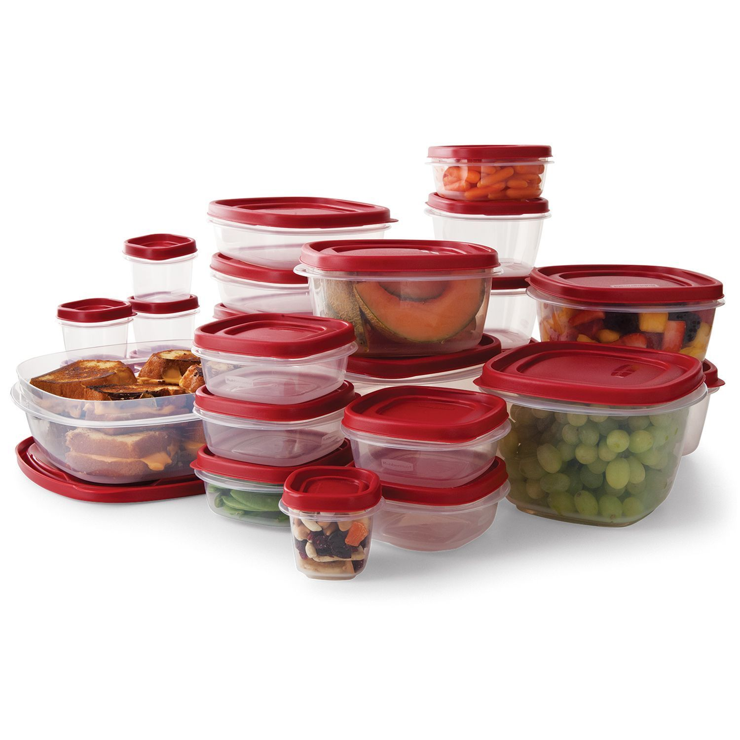 Rubbermaid 50-Piece Easy Find Lids Food Storage Set NEW NEW NEW 1