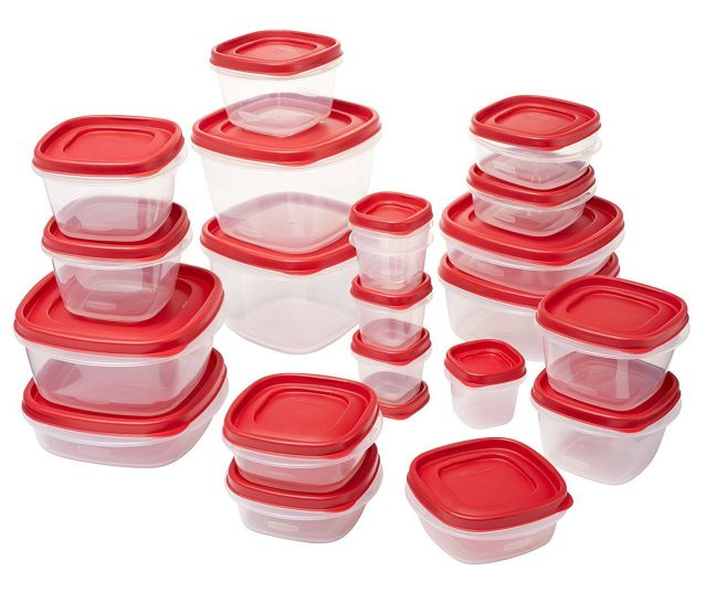 Rubbermaid Easy Find Lids Food Storage Containers, 8 Sets 7