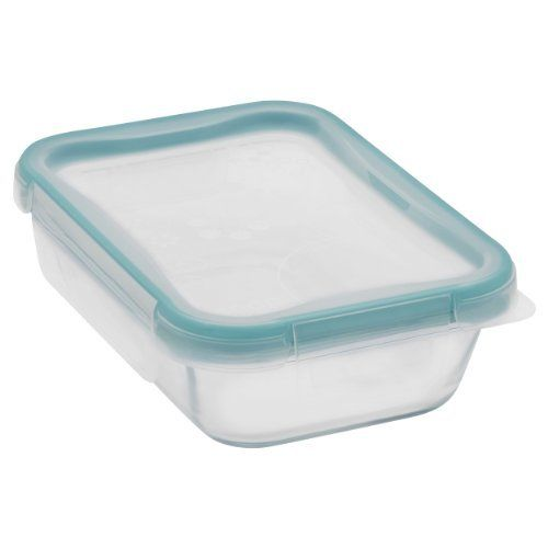 Snapware 2-Cup Total Solution Rectangle Food Storage Container, Glass New 1