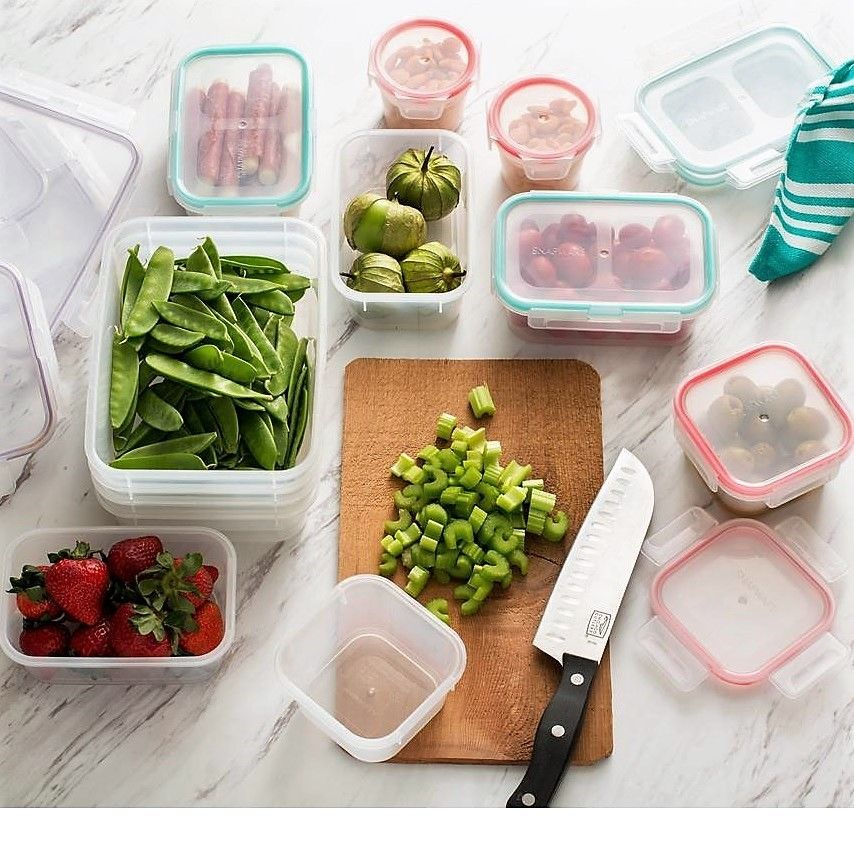 Snapware 24-Piece Airtight Food Storage Containers with Snap Lock Lids, 1108678 1