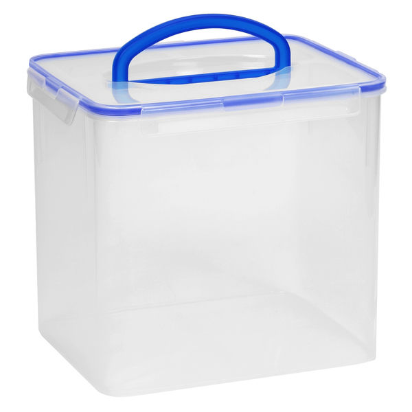 Snapware 40-Cup Rectangular Airtight Food Storage Container with Snap Lock Lid 1