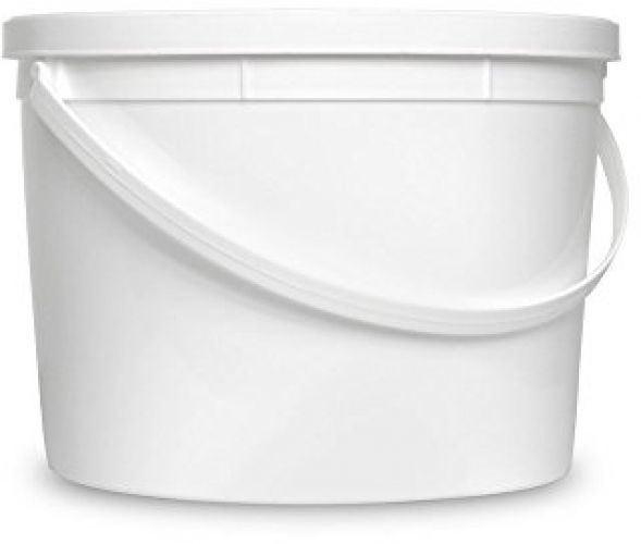 All Purpose Storage Bucket Food Grade Container Durable 90 Mil Plastic 1 Ga 1