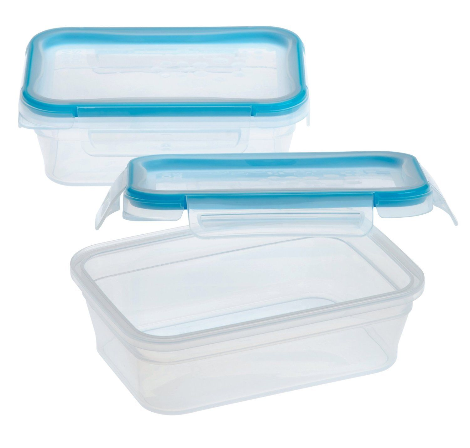 Snapware Total Solution 3-Cup Rectangular Plastic Food Storage Container, 2-Pack 1