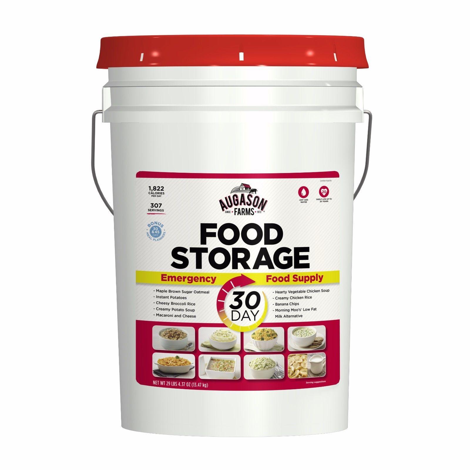 Augason Farms 30-Day Emergency Food Storage Supply 7G Pail 1