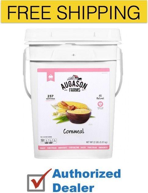 Augason Farms Emergency Food Cornmeal Disaster Survival Storage Supply Meal Kit 1