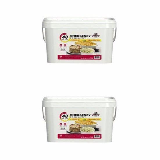 Emergency Food Supplies Augason Farms 2 Bucket Survival 55 Serving Storage 1