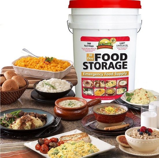 Survival Kit Emergency Food Storage Disaster Hurricane Earthquake 300 Camp Meal 1