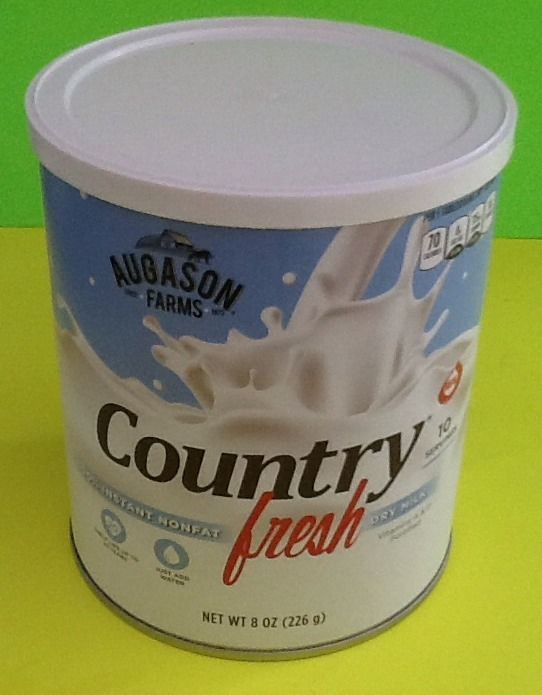 Augason Farms Country Fresh Dry Milk Emergency Food Storage Survival Prepper 1