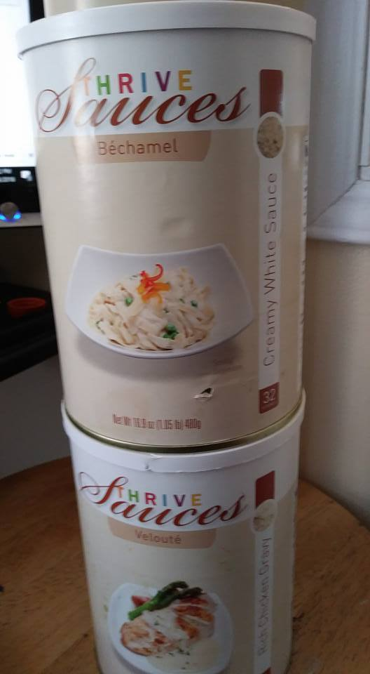 THRIVE Emergency Food  Storage  32+64 Servings, Free shipping 1