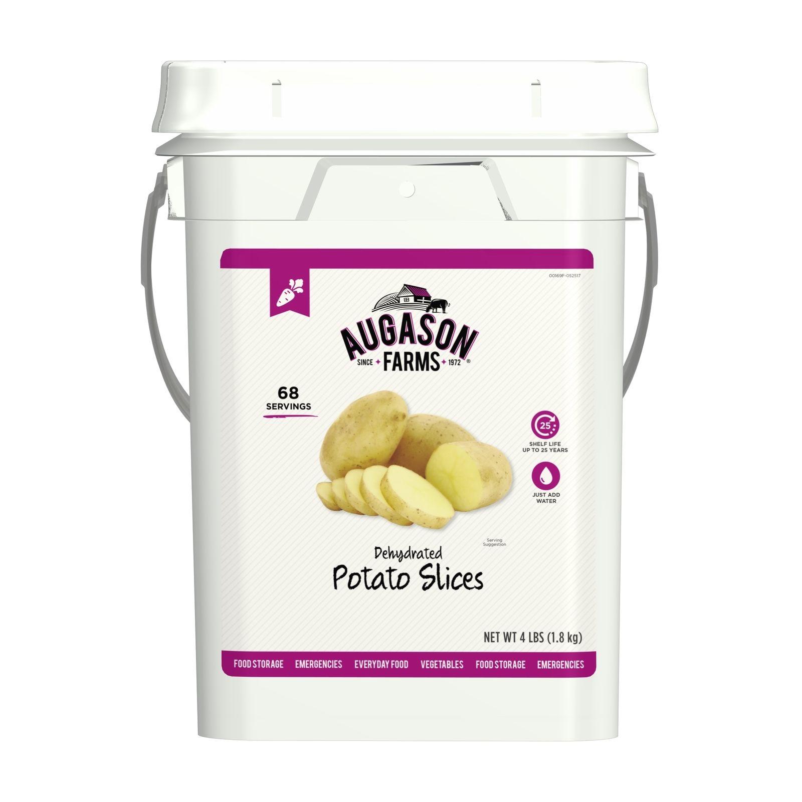 Augason Farms Emergency Bulk Food Storage Potato Slices Survial Servings Supply 1