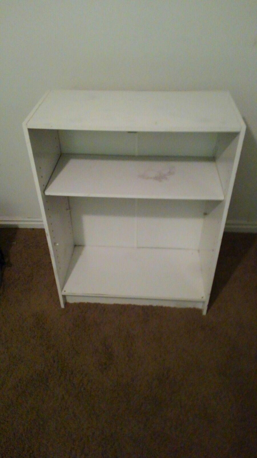 White double food/storage stand/shelf 1