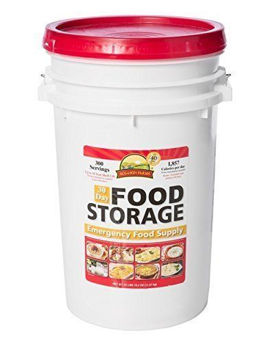 Augason Farms 30-Day Food Emergency Food Storage Pail 1
