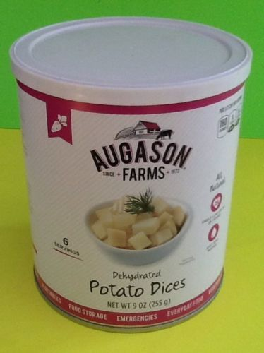 Augason Farms Dehydrated Potato Dices Prepper Emergency Food Storage Survival 1