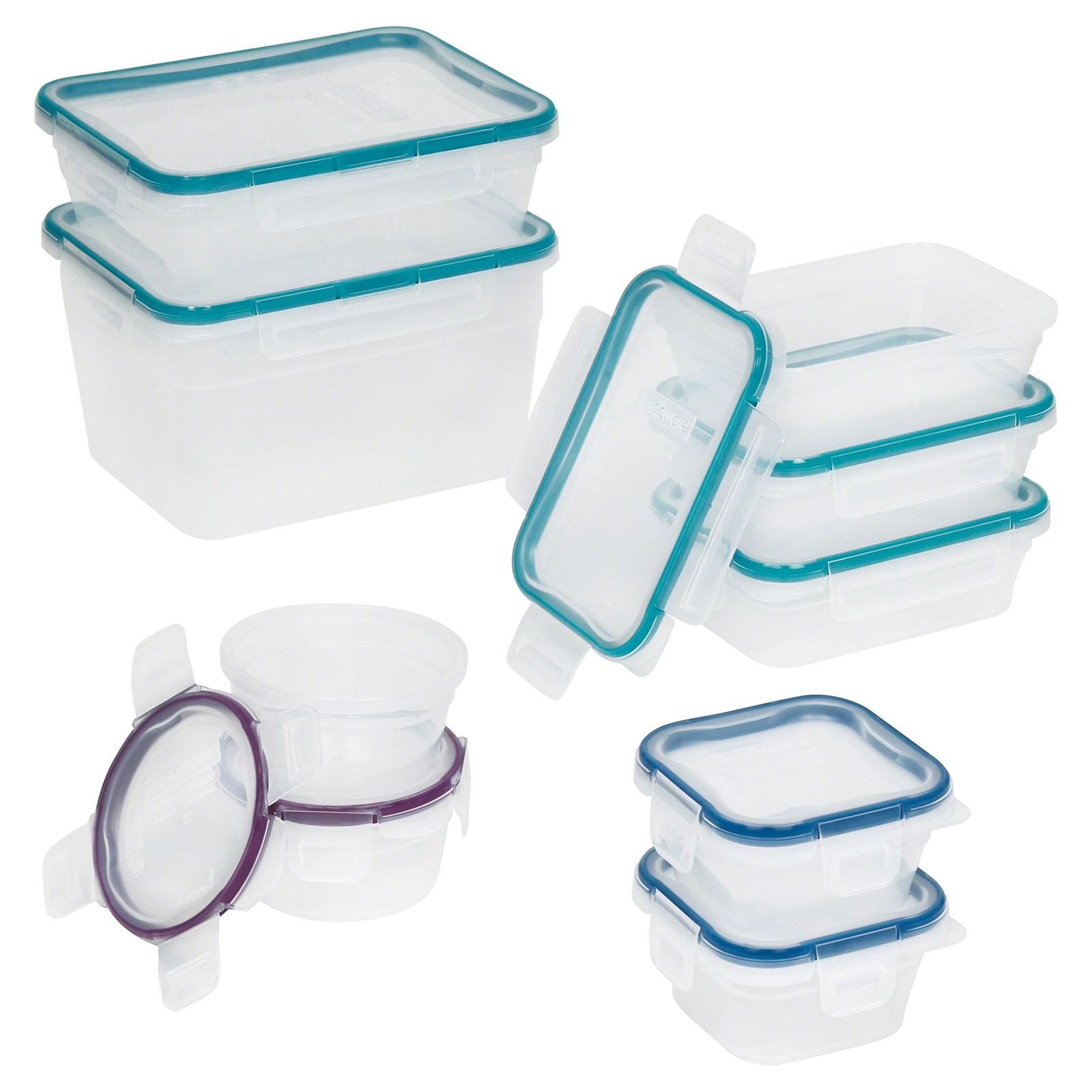 Snapware Total Solution Plastic Food Storage Container Set (18-Piece) 1