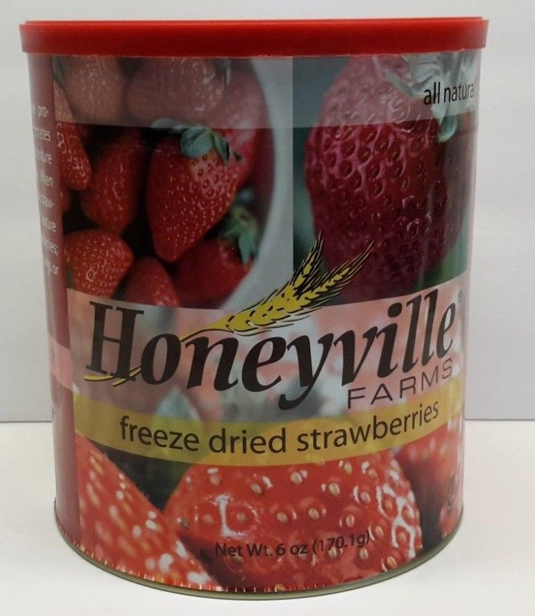 Honeyville's Freeze Dried Strawberries - Emergency Food Storage Survival 1