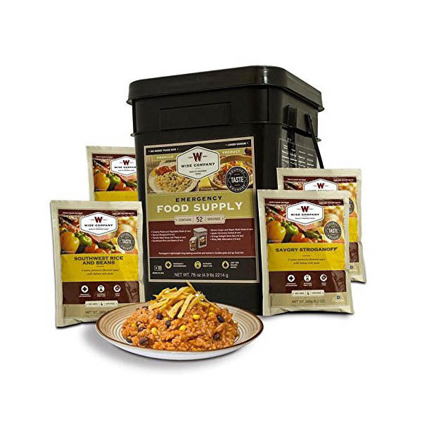 Wise Company Prepper Pack 52 Servings of Freeze Dried Emergency Food Storage 1
