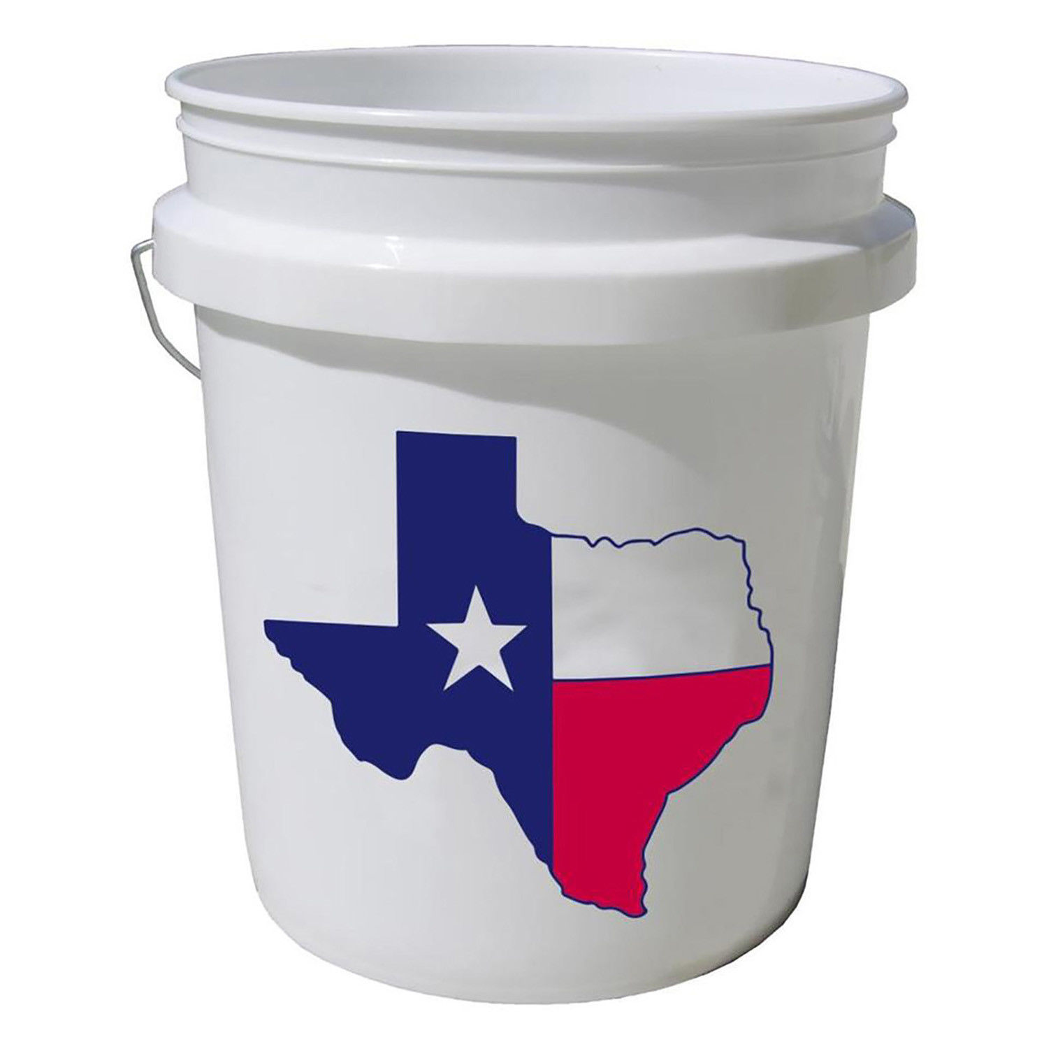 COMMERCIAL FOOD GRADE BUCKET 5 Gal All Purpose Texas Star Paint Storage Plastic 1