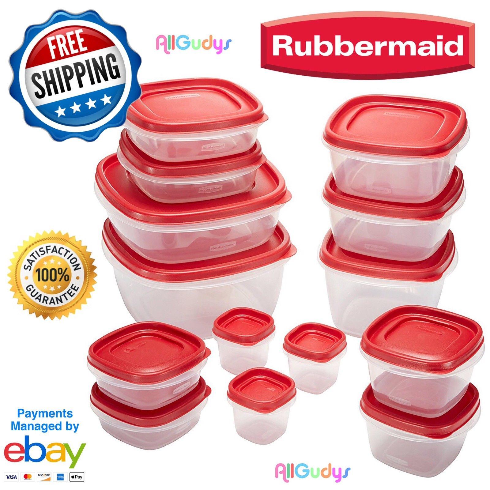 Rubbermaid 28pc Easy Find Lids Food Storage Set 1
