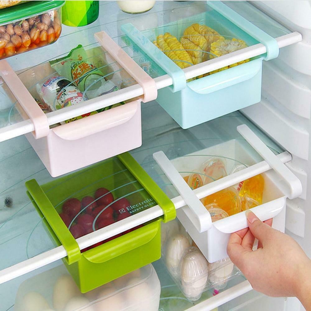 Kitchen storage Refrigerator Shelf Storage Rack Food Container 1