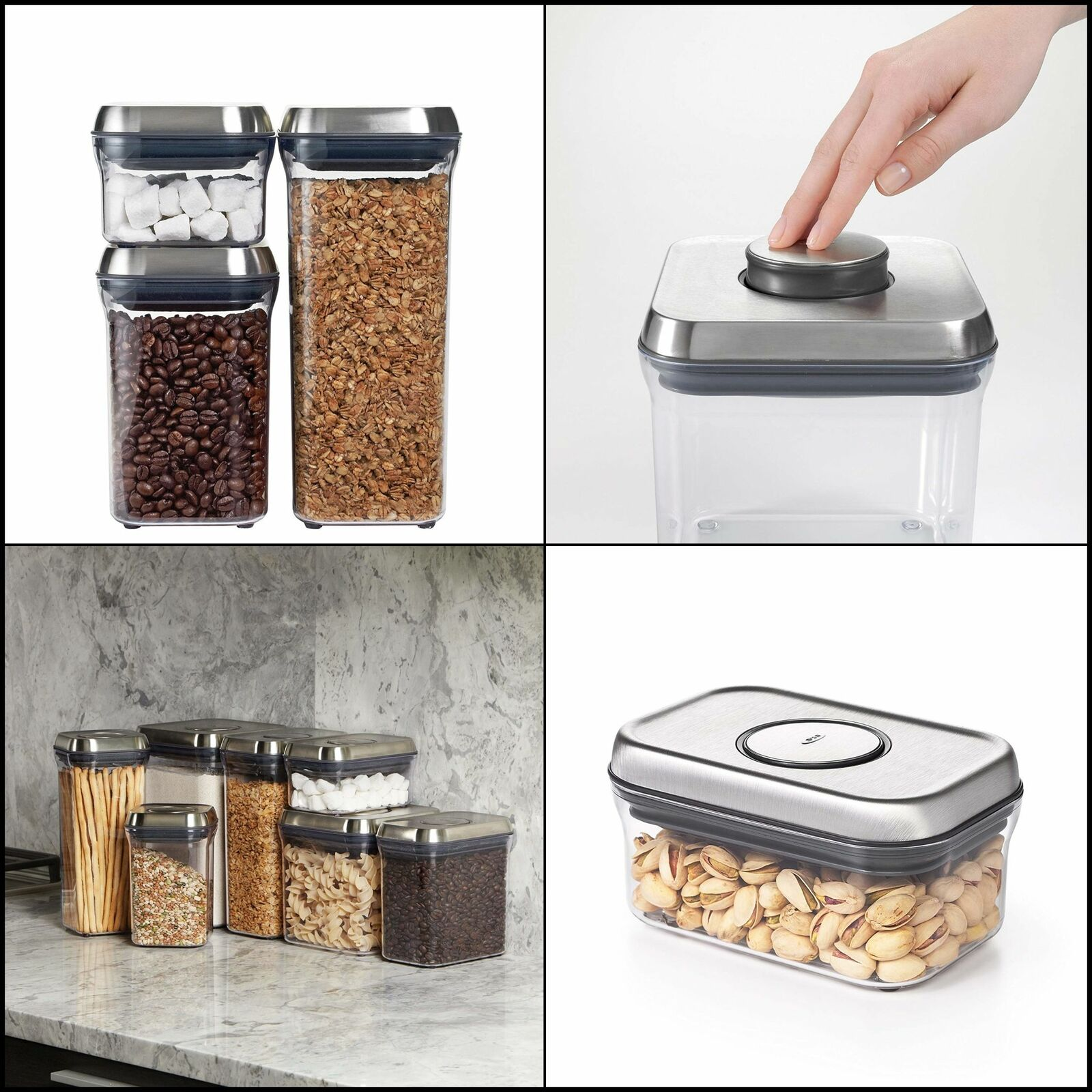 OXO SteeL Airtight Food Storage POP Container - 1