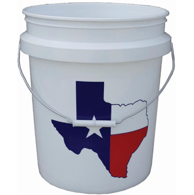 5 Gallon Plastic Food Grade Painting Bucket Commercial Storage Pail BPA Free 5