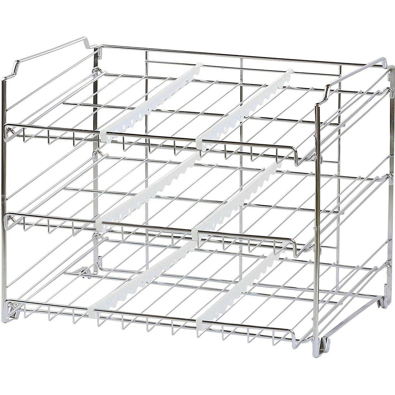 Can Storage Rack Soda Organizer Food Fridge Refrigerator