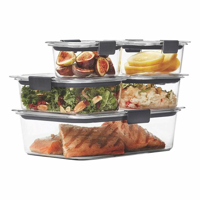 Rubbermaid Food Storage Containers with Airtight Lids, BPA-Free 4