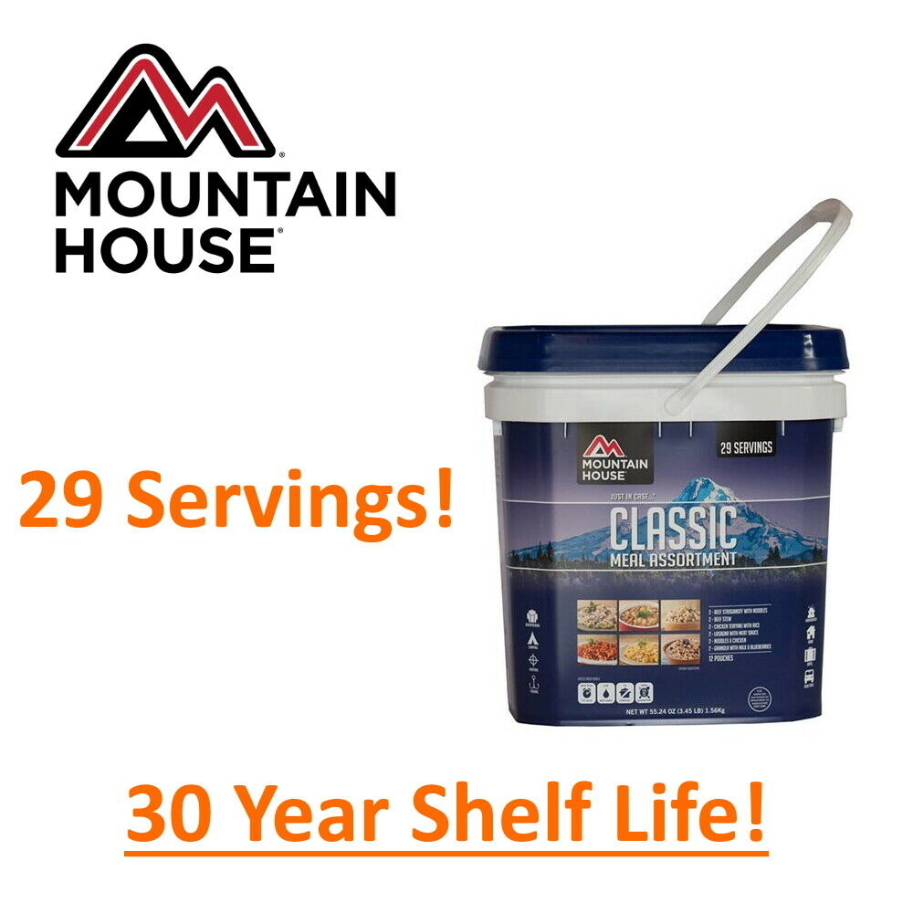 Mountain House Classic Bucket - Emergency Freeze Dried Food Storage - CLEARANCE! 1