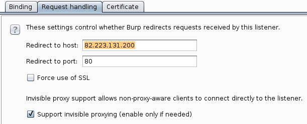 Setting up our intercepting proxy to catch the validation license key procedure