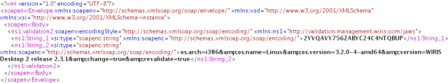 Whenever sending the same key to the server, additional parameters are passed.