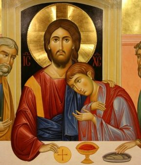 Image result for John, the disciple that Jesus loved most painting