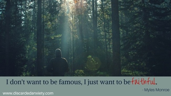 Discarded Anxiety - I Don't Want to Be famous