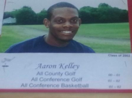 Aaron Kelley All-County Golf